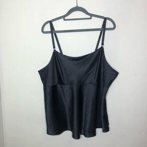 Cacique Black Half Slip Size 18/20